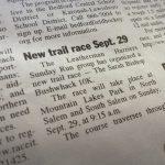 Lewisboro Ledger Article, Sarah Bishop Bushwhack