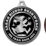 Sarah Bishop Bushwhack 10k Trail Race Metals